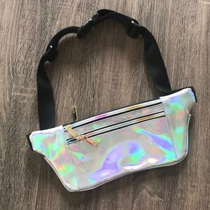 NWOT Holographic Belt Bag/Fanny Pack